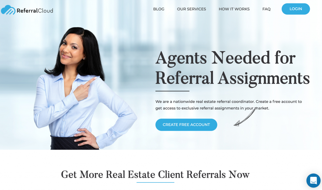 ReferralCloud - Exclusive real estate leads paid at closing