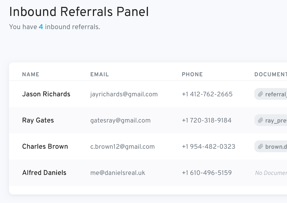 Get more inbound referrals